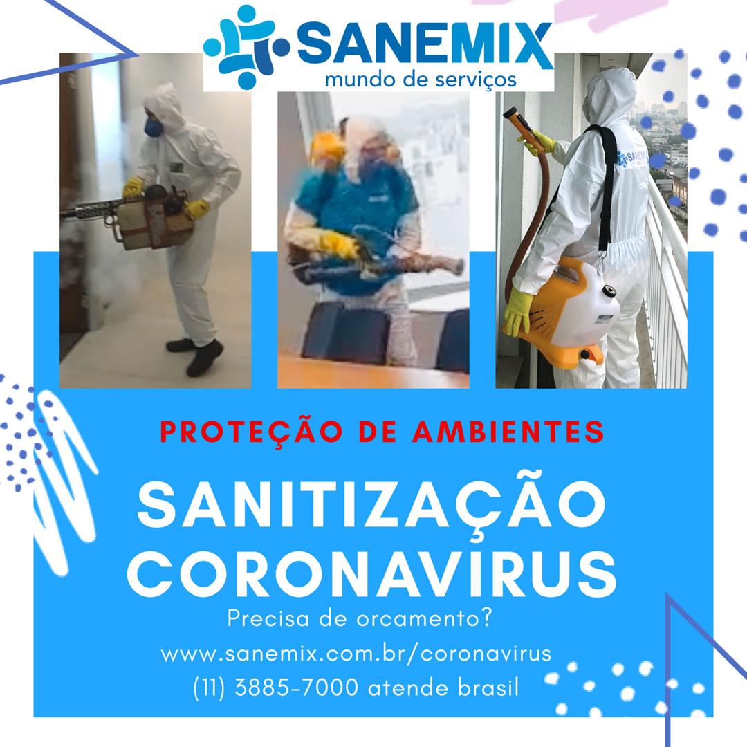 Sanitização contra Coronavírus