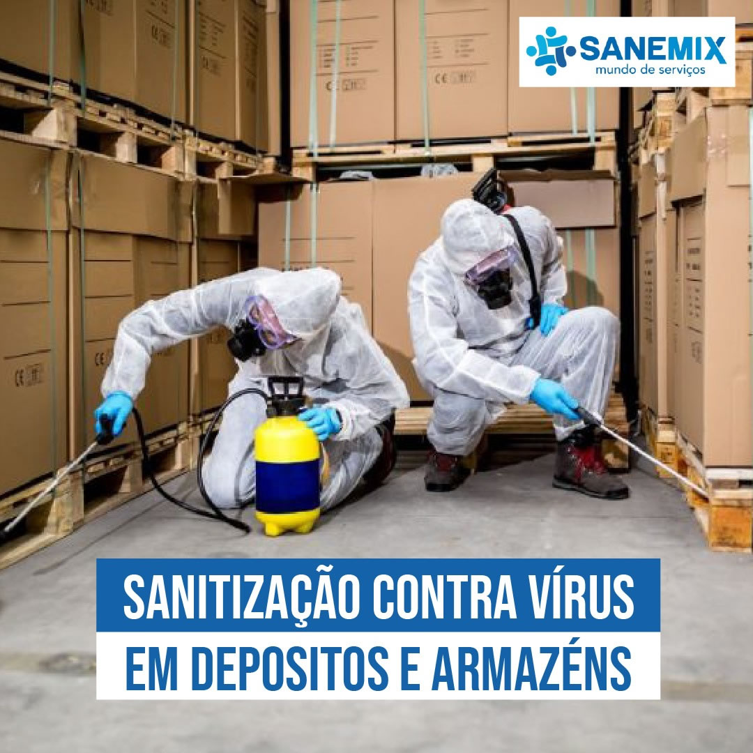 Sanitização de Depósitos e Armazéns